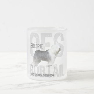 OES FROSTED GLASS MUG