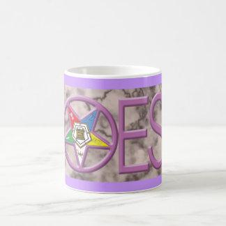 OES in pink Basic White Mug