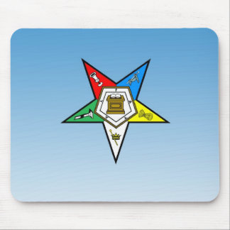 OES Order of the Eastern Star Blue Mouse Mat