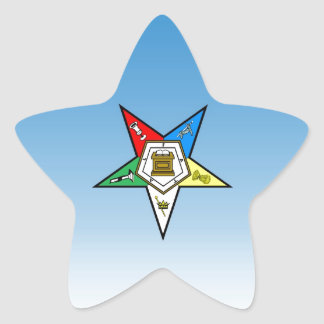 OES Order of the Eastern Star Blue Stickers