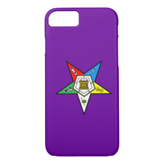OES Order of the Eastern Star iPhone 7 case Purple