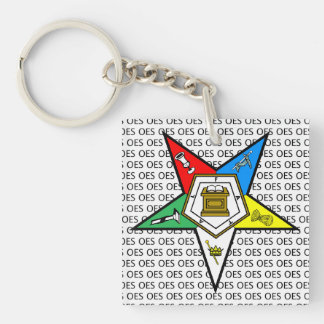 OES Order of the Eastern Star KeyChain