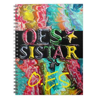 OES Sistar Spiral Notebook