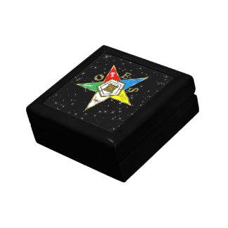 OES TILE STARS TILE BOX SMALL SQUARE GIFT BOX