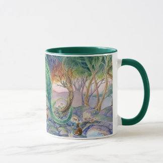 Of Air and Sea Dragon and Mermaid mug