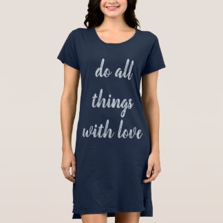 """""""Of all things with love """" Dress"""