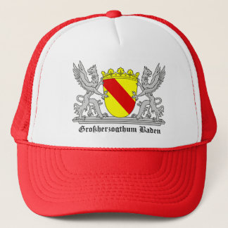 Of Baden seize with writing Grand Duchy of bathing Trucker Hat