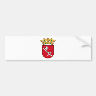 Of Bremen coats of arms Bumper Stickers