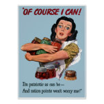Of Course I Can! -- Border Poster