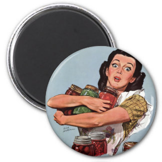 """""""Of Course I Can!"""" 6 Cm Round Magnet"""