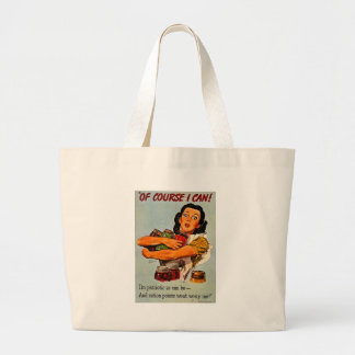 Of Course I Can! Vintage Retro World War II Bags