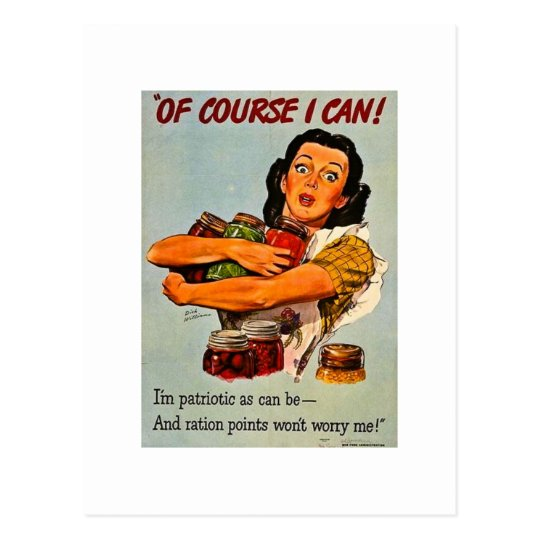 Of Course I Can! Vintage World War Two