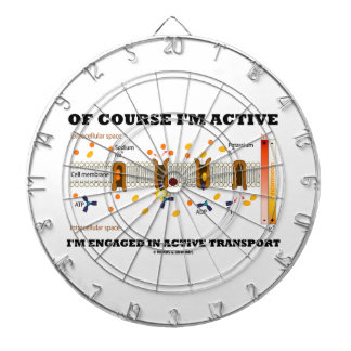Of Course I'm Active Engaged In Active Transport Dart Boards