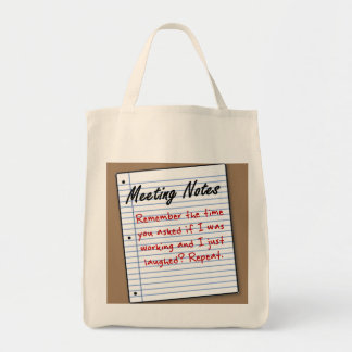 Of course I'm working Tote Bags