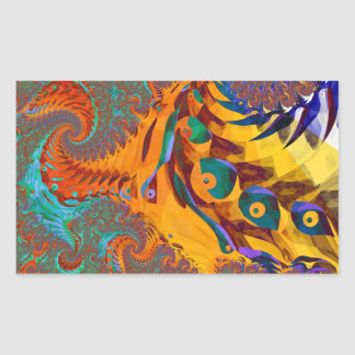 Of Dragon and Birds Sticker
