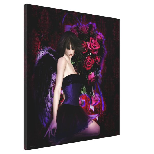 Of Wings and Roses Gothic Girls Fantasy Art