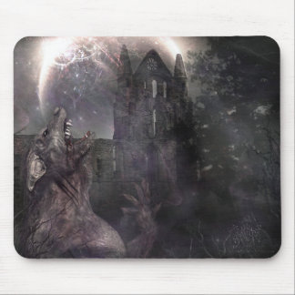 Of Wolf and Man Mouse Mat