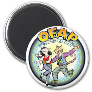 OFAP: Old Farts at Play magnet
