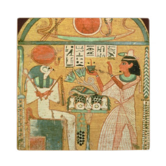 Ofenmut Offering to Osiris, Stele of Ofenmut from Wood Coaster