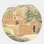 Oferta Para San Esquipula by Walter Ufer Round Stickers