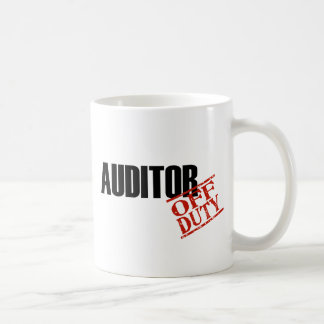 Off Duty Auditor Coffee Mug
