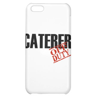 OFF DUTY Caterer iPhone 5C Covers