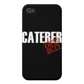 OFF DUTY Caterer iPhone 4/4S Covers
