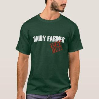 OFF DUTY DAIRY FARMER T-Shirt