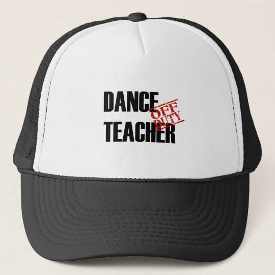OFF DUTY DANCE TEACHER LIGHT CAP