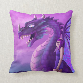 Off Duty Dragon Cushion
