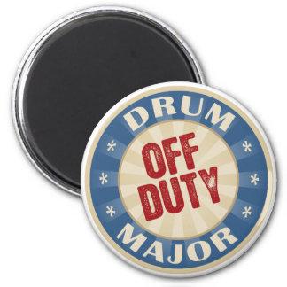 Off Duty Drum Major Fridge Magnets