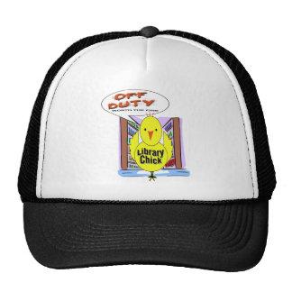 Off Duty Librarian - Worth The Fine Trucker Hat