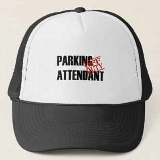 OFF DUTY PARKING ATTENDANT LIGHT TRUCKER HAT