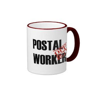 Off Duty Postal Worker Coffee Mug