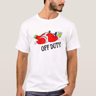 Off Duty Santa (Drunk) T-Shirt