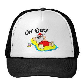 Off Duty Santa (Sunbathing) Cap