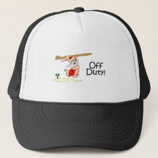 Off Duty Santa (Surfing) Trucker Hat