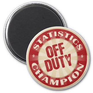 Off Duty Statistics Magnet