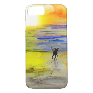 Off Into The Sunset iPhone 7 Case