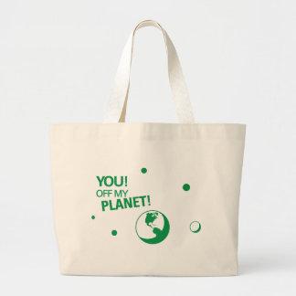 Off My Planet Jumbo Tote Bag