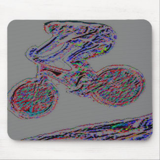 Off-road Downhill Mountain Biking Mouse Pad