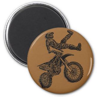 Off road moto fridge magnets