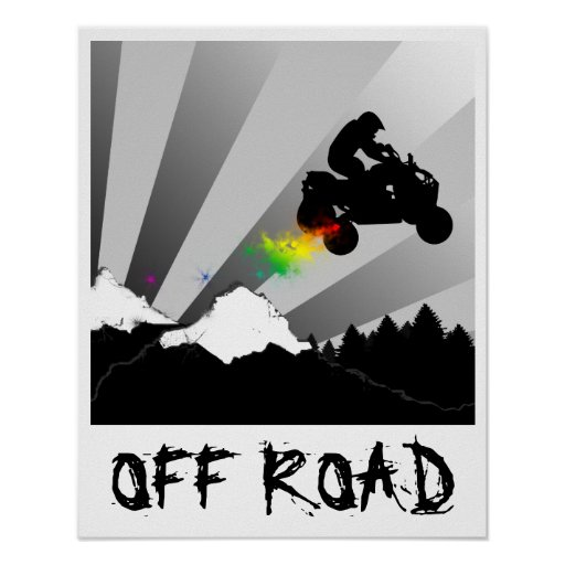 off road quads posters
