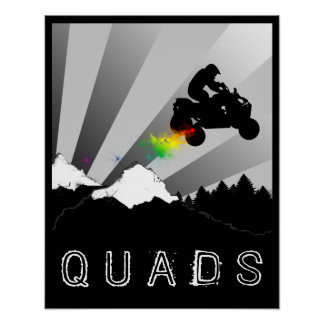 off road quads poster