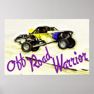 Off Road Warrior 1 Print