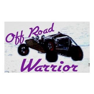 Off Road Warrior Poster
