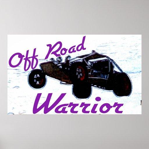 Off Road Warrior Poster