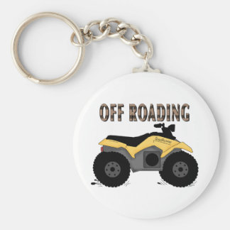 Off Roading Tshirts and Gifts Basic Round Button Key Ring