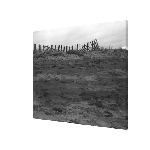 Off season stretched canvas prints