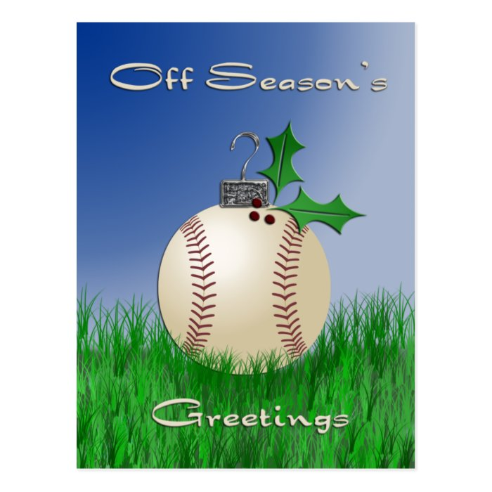 Off Season's Greetings Postcard